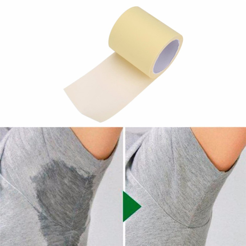 Disposable Armpit Sweat Pads Portable Absorbing Underarm Antiperspirant Transparent Keep Dry Sticker Prevent Prevent Deodorant