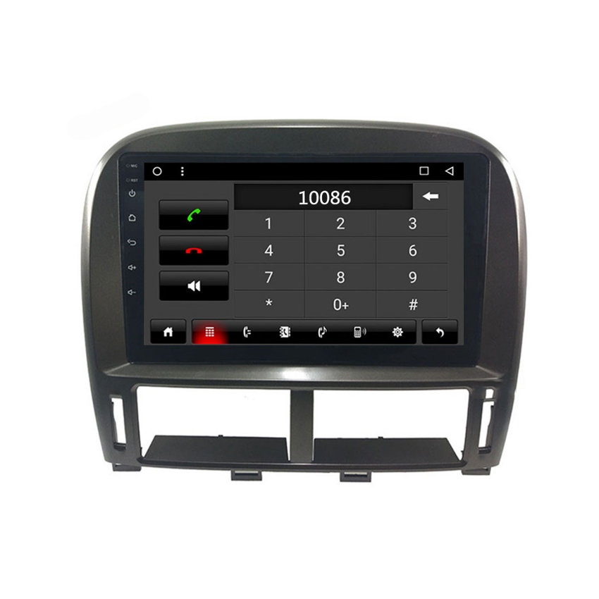 For Lexus LS430  XF30 1997 2000~2006 Original Style Android multimedia player Car touch screen GPS Navigation Support 8