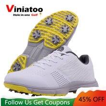 Новый Водонепроницаемый шипы для клюшки гольфа обувь Для мужчин