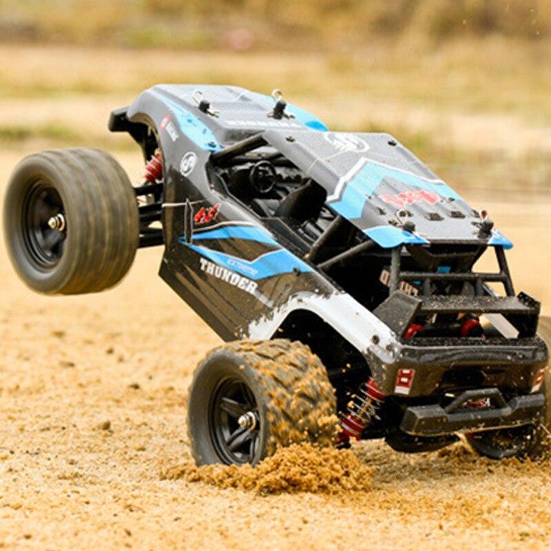 Радиоуправляемый автомобиль 1: 18 соотношение рулевого управления дифференциальный контроль 4wd час скорость 50 км четыре колеса восхождения по бездорожью гоночный сплав Материал