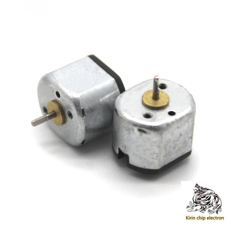 5PCS/ LOT N10 Motor Small Micro-motor 3v High-speed Mute Direct-current Small-motor Maker DIY Fitting