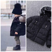 New Warm Winter Jacket Baby Clothing Girl Clothes Down For Girls Boys Thicken Snowsuit Outerwear 2T 6T 9T