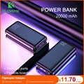 FLOVEME 電源銀行 20000 mAh ポータブル充電 Poverbank 携帯電話の外部バッテリー充電器 Powerbank 20000 用シャオ mi mi