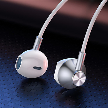 цена на 3 5mm Wired Earphones in Ear Stereo Earbuds with Microphone Noise Cancelling Headset with Mic Volume Control Earbuds Earphone