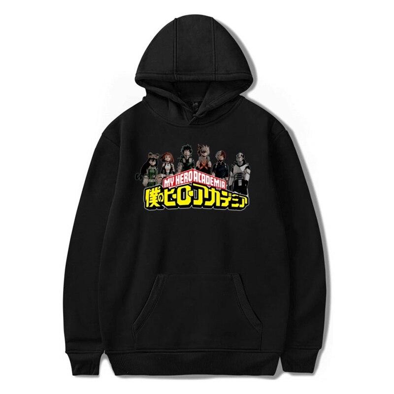 My Hero Academia Hoodie Men/women Hip Hop Hoody Jackets Casual Cotton Pullover Anime Hodies Fashion Outdoor Hoodies Sweatshirt