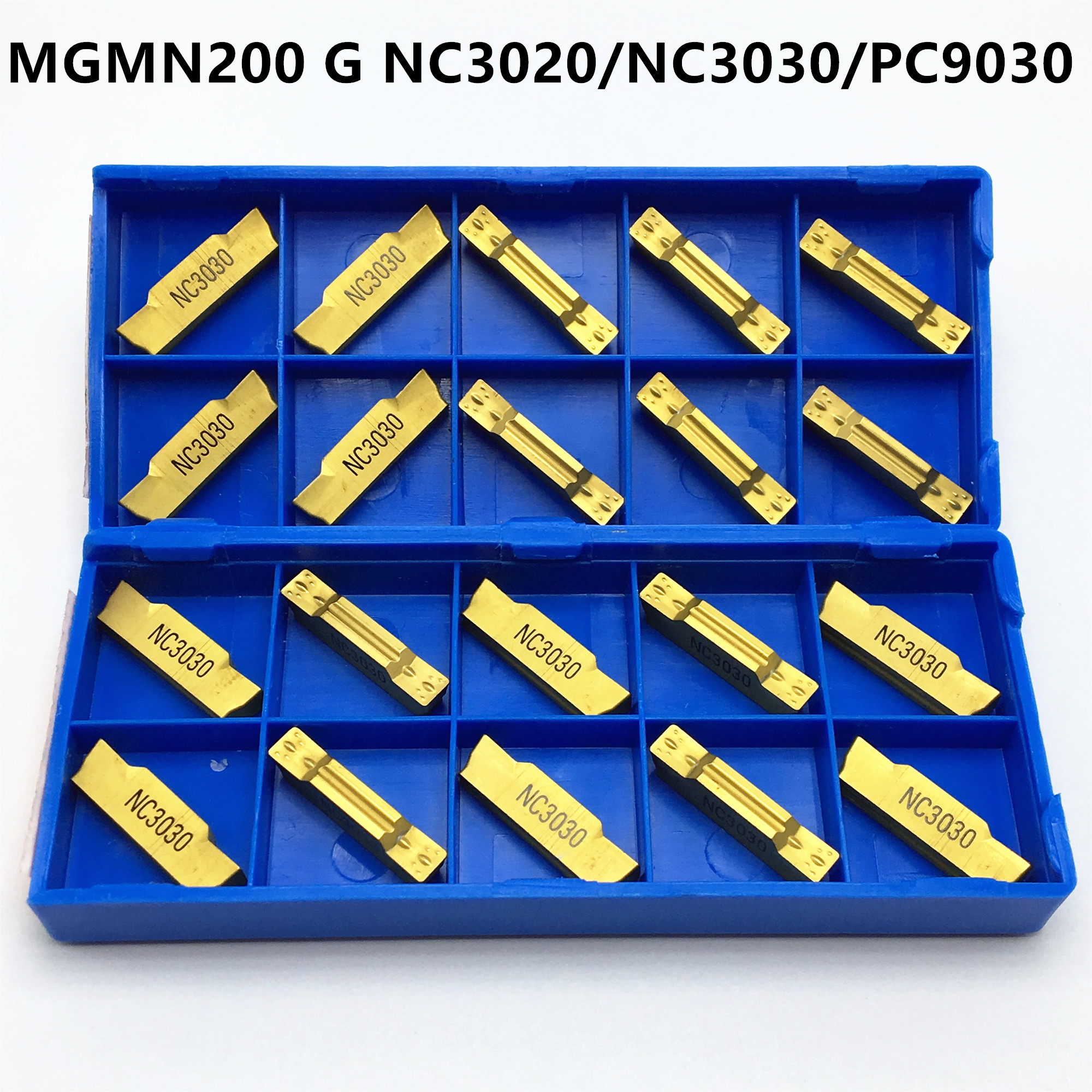 MGMN150-G NC3030 1.5mm wide Cutting blade carbide insert CNC TOOL 10Pcs