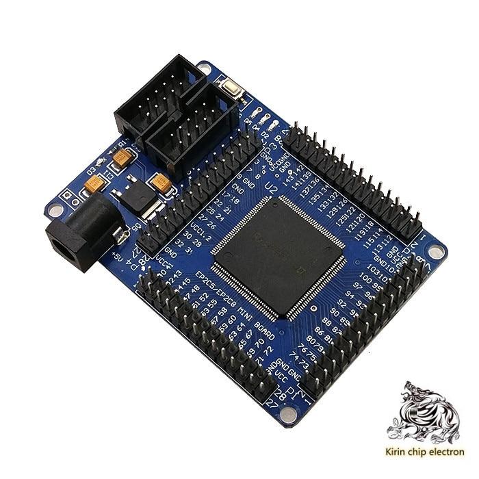 2PCS/ LOT ALTERA FPGA CycloneII EP2C5T144 System Learning Board Development Board.