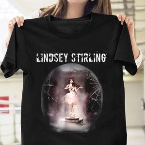 T-Shirt Black Stirling Funny Unisex Shatter Cotton 014703 Lindsey Me Cartoon New-Fashion