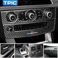 Наклейки для салона автомобиля, модификация переключателя передач, выход воздуха, CD панель, декоративная отделка из углеродного волокна дл...