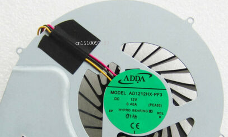 Free Shipping AD1212HX-PF3 DC12V 0.40A PCA30 CPU COOLING FAN FOR ASUS ET2011AGT ET2011EG CPU COOLING FAN
