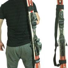 Регулируемые лыжные палки на плечо, переноска для рук, ручки для ресниц, ремни Porter, крюк-петля, защита, черный нейлоновый лыжный ремень, сумки