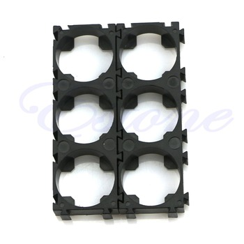 10pcs Electric Car Bike Toy Battery 18650 Spacer Radiating Holder Bracket Black-27#/CC image