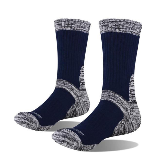 YUEDGE Men's Wicking Cushion Cotton Socks 10