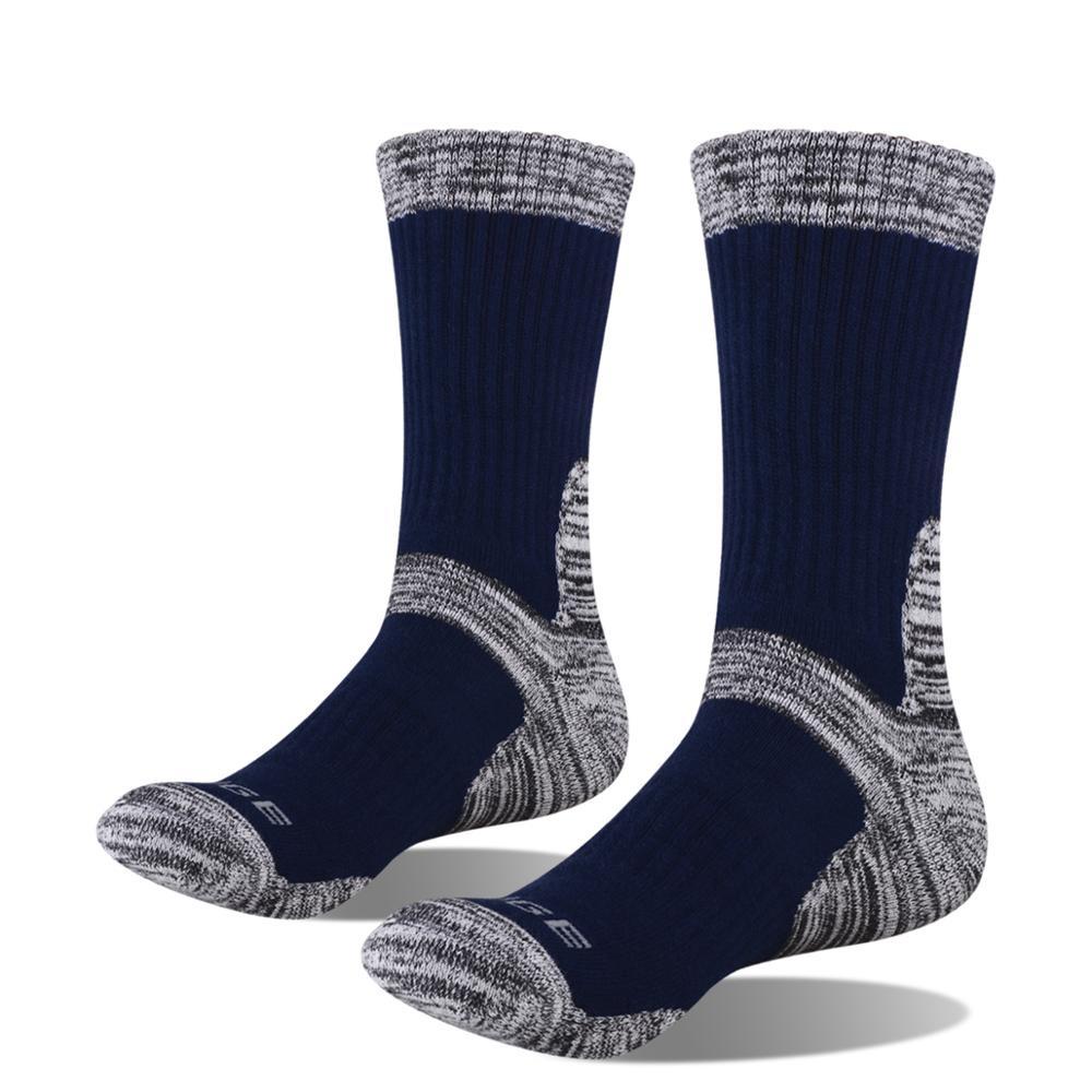 Image 5 - YUEDGE мужские впитывающие подушки хлопковые носки спортивные походные носки (5 пар/упаковка)