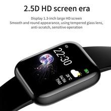 I5 Bluetooth akıllı saat spor su geçirmez kalp hızı kan basıncı monitörü erkekler kadınlar çocuklar için Smartwatch Android IOS PK IWO P80