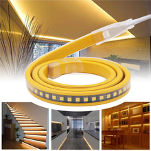 220V Led Strip Light 4040 120LED/M High Brightness IC Control Flexible Waterproof  IP67 Outdoor Engineering Lighting New