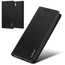 Zarif manyetik kapak cüzdan kılıf Sony Xperia XZ Premium için lüks karbon Fiber deri kapak X XA XA1 XZs 360 koruyucu Coque
