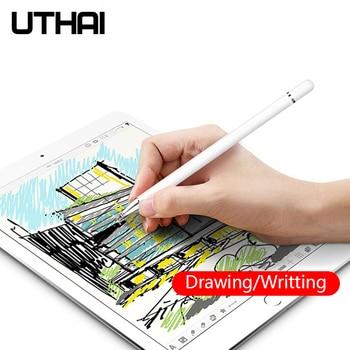 UTHAI DA01 Capacitive Stylus Touch Screen Pen Universal for iPad Pencil iPad Pro 11 12.9 10.5 Mini Stylus Tablet Pen Phone cewaal universal capacitive pen touch screen point stylus pen pencil for ipad phone pc tablet laptop