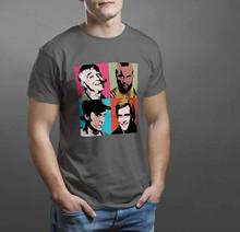 Camiseta Retro del equipo A de los 80 BA Murdock Hannibal, todas las tallas 73