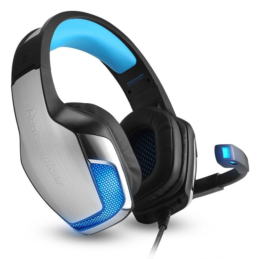 V4 Hunterspider Noise Isolating Earphone Headset Comfortable Over-Ear Stereo Music Phones PC Computer Gaming Headphone