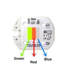1 шт. 220 В 30 Вт светодиодный чип COB RGB В переменного тока 30 Вт красочный источник светильник с интеллектуальным IC чипом драйвера для DIY прожекто...
