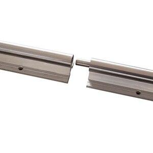 Image 2 - Kostenloser versand 2 Set SBR20 3000mm(1500 + 1500) 20 MM VOLLSTÄNDIG UNTERSTÜTZT LINEARE SCHIENE WELLE ROD mit 4 SBR20UU für CNC