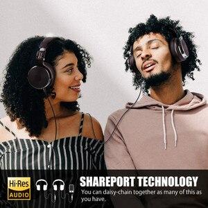 Image 5 - Oneodio katlanabilir aşırı kulak kablolu kulaklık telefon bilgisayar profesyonel stüdyo Pro monitörler müzik DJ kulaklık oyun kulaklık
