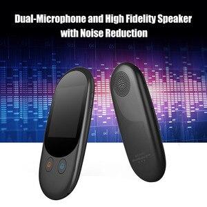 Image 3 - Портативный голосовой переводчик, Мини карманный, в режиме реального времени, многоязычный, автономный, Wi Fi, онлайн, дорожный переводчик