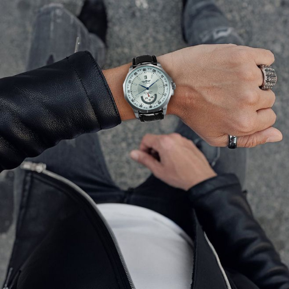 Hbf6b2bace3d4463caa4eb35ce9a0859c2 WINNER Official Military Sports Watch Men Automatic Mechanical Sub-dials Calendar Leather Strap Mens Watches Top Brand Luxury