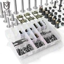 Для Yamaha TDM 850 900/A TMAX 500/530 SX/DX SRV250 SRX 400 600 TDR250 Мотоцикл Обтекатели болты для корпуса комплект крепежные зажимы винт гайка