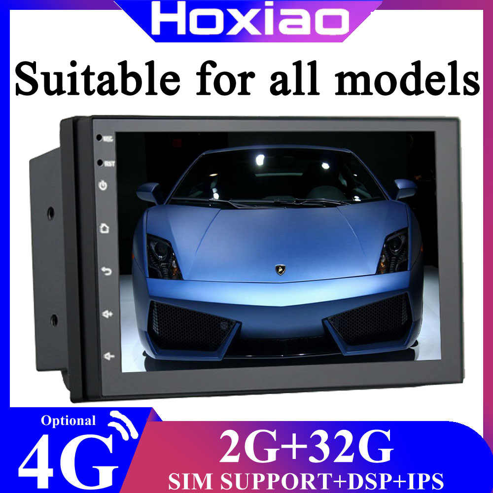 "Auto Radio 2DIN Android Gps Navigasi Mobil Radio Mobil Stereo 7 ""WIFI Bluetooth USB Audio 2DIN Universal Multimedia mobil Player"