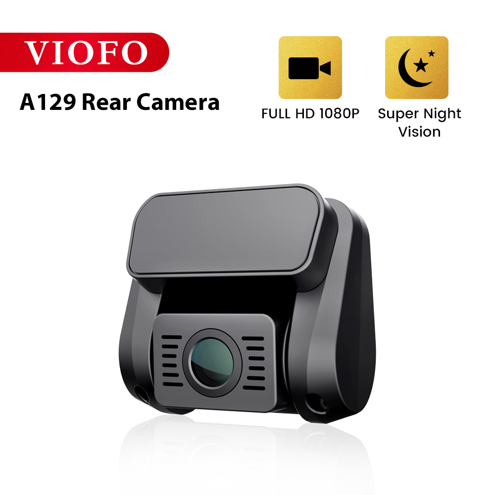 Viofo A129 Câmera Traseira Banda 5 GHz Wi-Fi Full HD Painel Do Carro Gravador de Câmera Com Sensor de Imagem da Sony Starvis