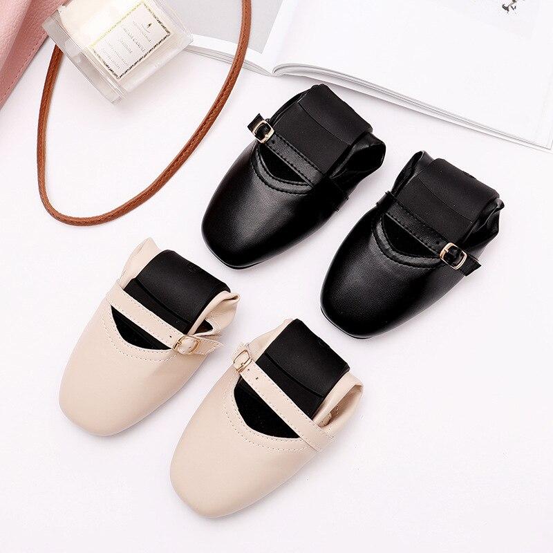 2019 été femmes chaussures plates baskets ballerines oxfords chaussures femmes sans lacet mocassins blanc découpe confort plat bateau chaussures - 3
