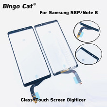 New Touch Screen Digitizer Glass Sensor Lens Panel For Samsung Galaxy S8 plus Note 8 LCD Screen Touch Function Problem Repair