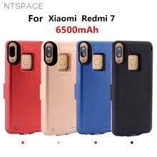 NTSPACE Backup Power Bank Charging Cases for Xiaomi  Redmi 7 Battery Case 6500mAh Powerbank Cover for Xiaomi  Redmi 7  Power Cas