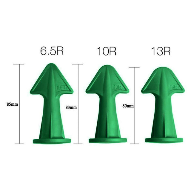 3pcs Multi-functional Silicone Sealant Nozzle Scraper Floor Caulking Tools Silicone Sealant Nozzles Kit Home Improvement 5