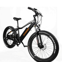 Electric snowmobile lithium battery mountain bike power bicycle 26 inch 48V speed 4.0 wide tire beach off road vehicle