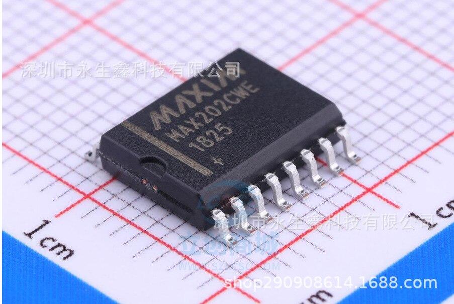 5/за штуку Бесплатная доставка патч интегрированный Max202cwe лапками углублением Sop-16 широкофюзеляжный 7. 2 мм Max202 оригинальный Фирменная Новинк...