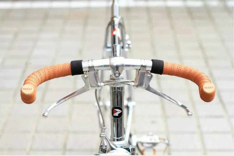 clifcragrocL 1 par Durable la manija Bicicletas Palanca del Freno Carretera Retro City Manillar doblado Barra la Palanca del Freno la Bicicleta Fija la manija Engranaje la Pieza la Bici del Freno