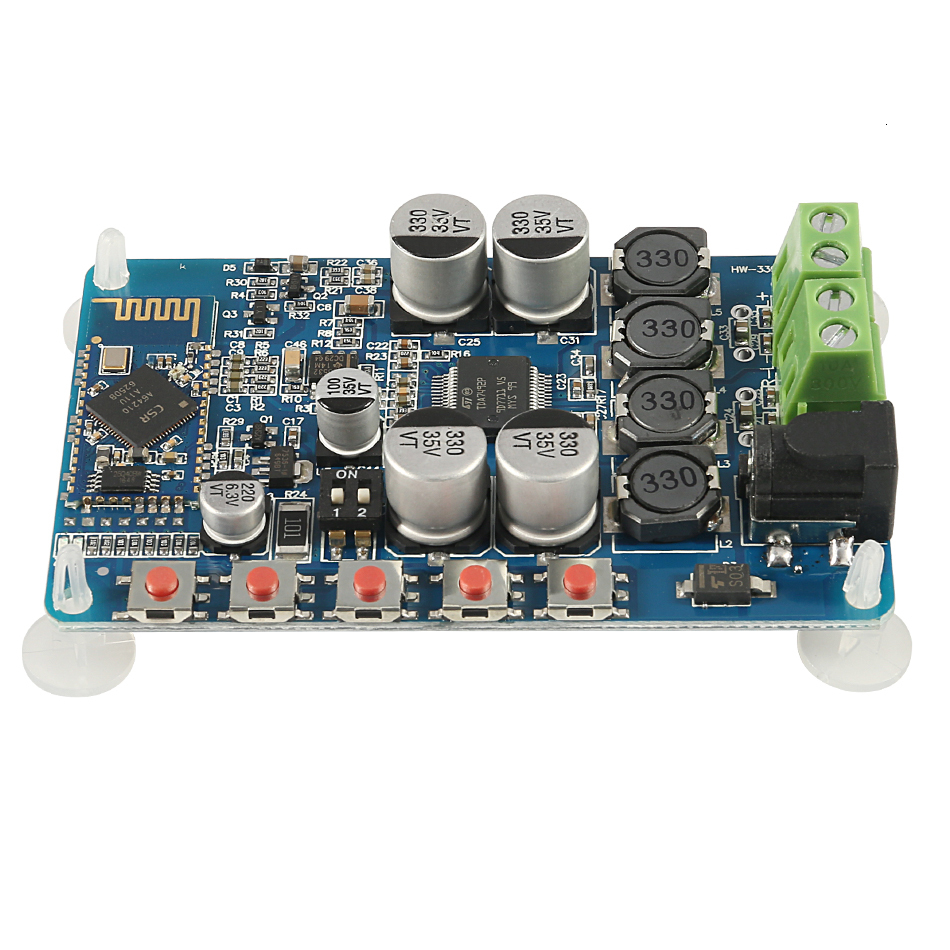 TDA7492P Bluetooth Receiver <font><b>Amplifier</b></font> Audio Board 25W*2 <font><b>Speakers</b></font> Modified Music Mini <font><b>Amplifiers</b></font> Diy Dual channel image