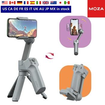 Moza Mini MX 3-eje de mano del cardán estabilizador palo de Selfie para iPhone 11 Pro Xs Max Xr 8X8 Plus 7 Smartphone Galaxy Huawei