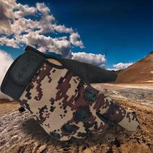 Full-Finger-Gloves Tactical Military Hunting Camouflage Outdoor Touch-Screen Cycling