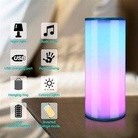 Portable Night Light LED Desk Lamp Motion Sensor Nightlight Table Lamp Waterproof Hot Sale for Home Decor Dropshipping