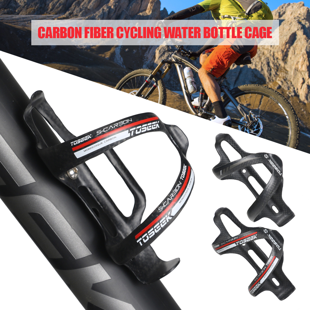 Outdoor Riding Road Bike Bicycle Water Bottle Holder Cages PVC Bottle Cage Red
