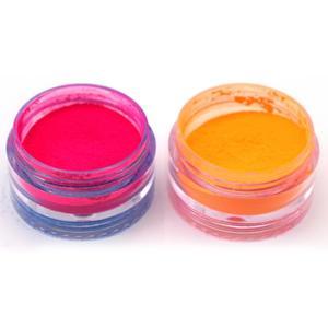 6 цветов смешанные неоновые рассыпчатые Порошковые тени для век пигмент матовая минеральная пудра Бьюти макияж мерцающие Сияющие тени для век TSLM1