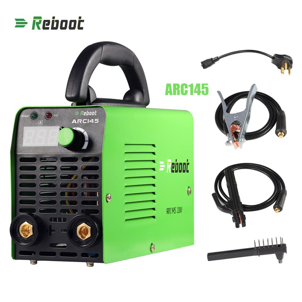 REBOOT Stick Welder ARC Welding Machine 145A Welder Light Weight 220V Iron Welder MMA Inverter Machine Mini  Portable Welder