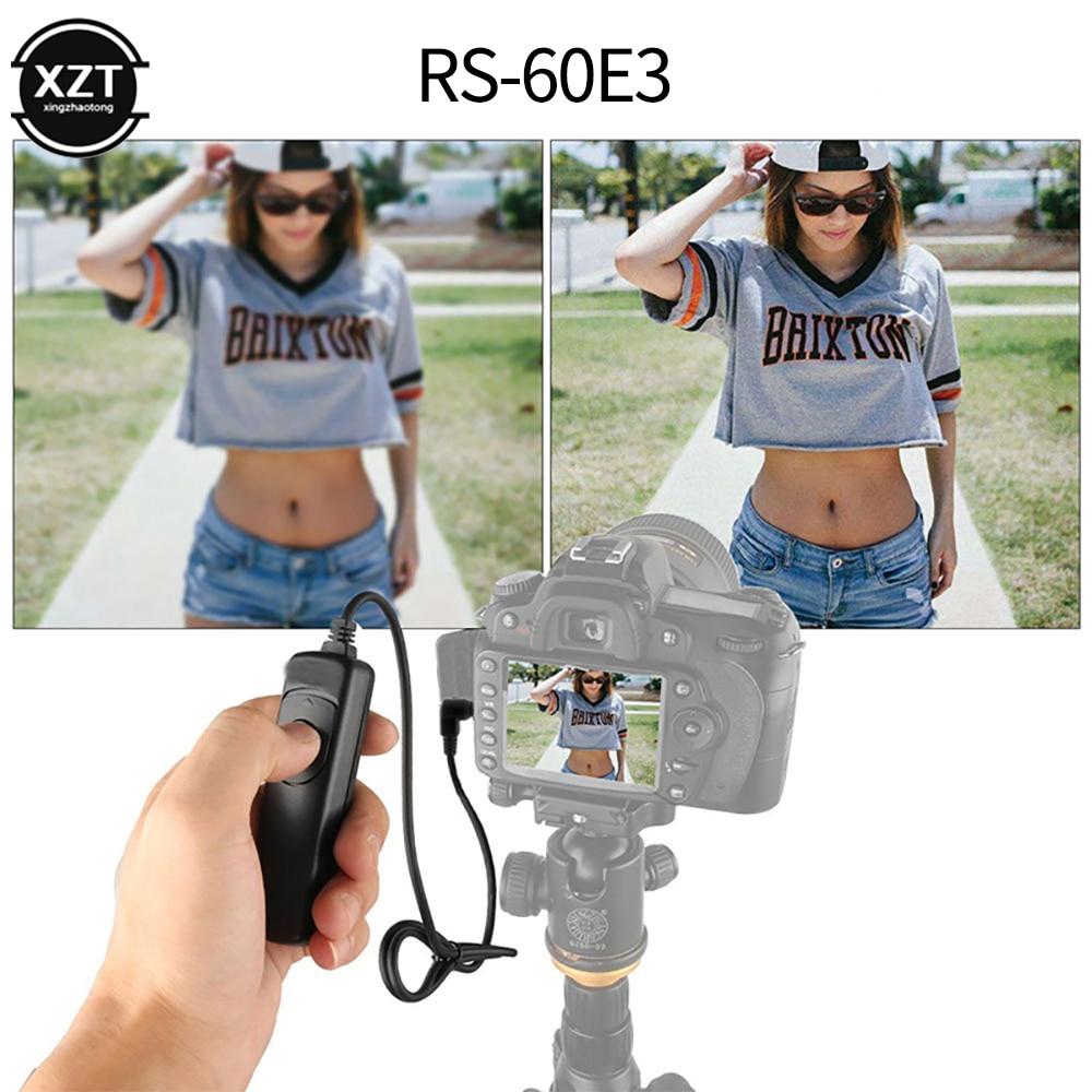 Шнур управления затвором для цифровой зеркальной камеры Canon EOS 1300D 1100D 1200D 1000D 100D 350D 500D 550D 600D 650D 700D, шнур управления затвором