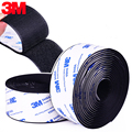 Черный, белый цвет сильный Самоклеящиеся Застежки Tape16/20/25/30/38/50 мм 3M Velcro крючками и петлями лента DIY Костюмы домашняя обувь; Тапочки для 50 см