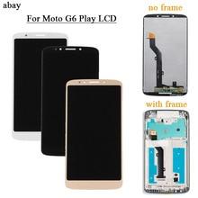 OEM لموتورولا موتو G6 اللعب شاشة الكريستال السائل لوحة شاشة لمس ل XT1922 شاشات LCD للهواتف المحمول محول الأرقام الجمعية استبدال