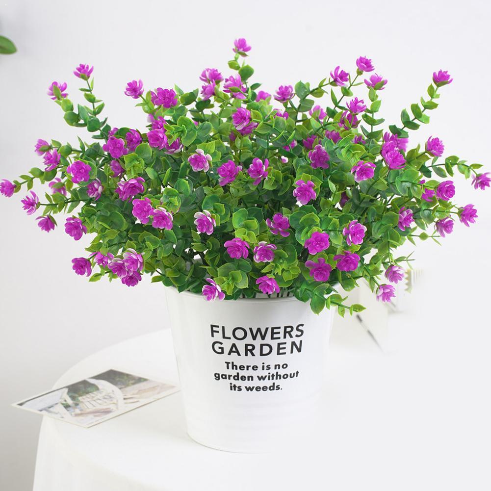 Diy 1pc casamento falso flores popular festival suprimentos de qualidade flores alta milão casa decorações decoração artificial par z0g0